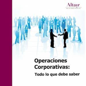 Libro Operaciones Corporativas: Todo lo que debe saber